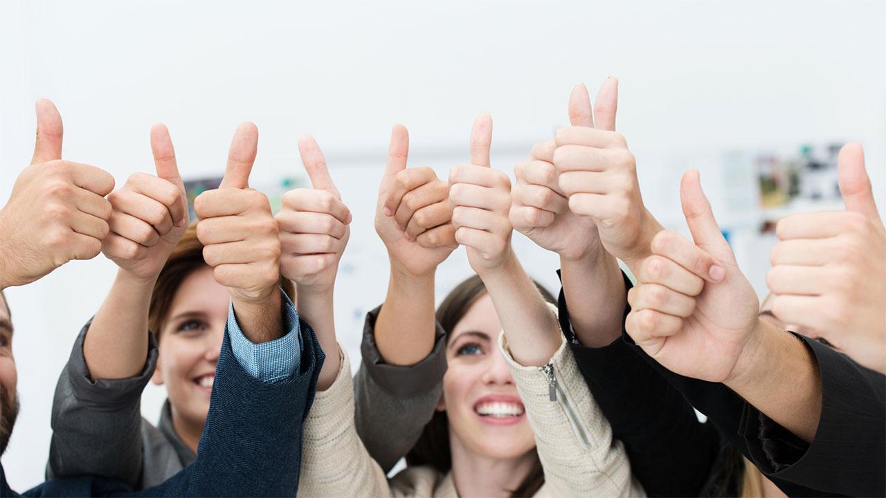 Unsere Kunden sind zufrieden